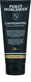 Percy Nobleman Hair shampoo alla caffeina uomo per corpo e capelli