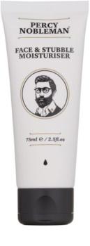 Percy Nobleman Face & Stubble hydratační krém na obličej a vousy