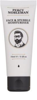 Percy Nobleman Face & Stubble hydratačný krém na tvár a fúzy