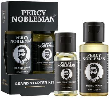 Percy Nobleman Beard Starter Kit kozmetični set I. za moške