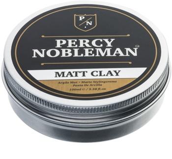 Percy Nobleman Hair matirajoči vosek za lase z ilovico