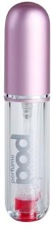 Perfumepod Pure vaporizador de perfume recarregável unissexo 5 ml  Pink