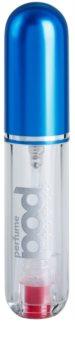 Perfumepod Pure nachfüllbarer Flakon mit Zerstäuber unisex 5 ml  (Blue)