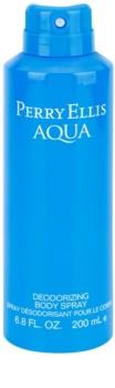 Perry Ellis Aqua Bodyspray  voor Mannen 200 ml