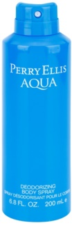 Perry Ellis Aqua Bodyspray  voor Mannen 200 ml