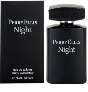 Perry Ellis Night Eau de Toilette für Herren 100 ml