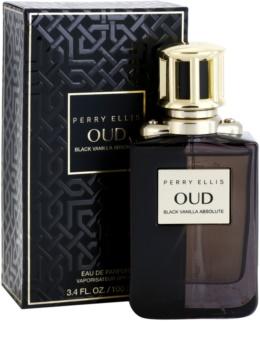 Perry Ellis Oud Black Vanilla Absolute parfémovaná voda unisex 100 ml