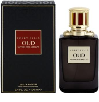 Perry Ellis Oud Saffron Rose Absolute Eau de Parfum Unisex 100 ml