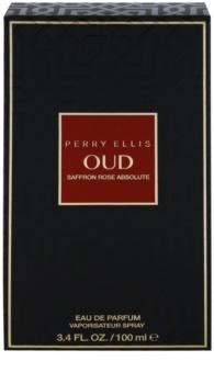 Perry Ellis Oud Saffron Rose Absolute Eau de Parfum unissexo 100 ml