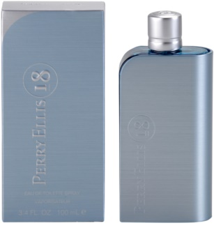 Perry Ellis 18 Eau de Toilette für Herren 100 ml
