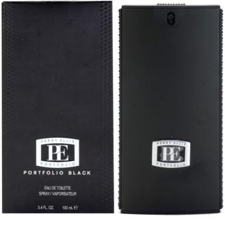 Perry Ellis Portfolio Black eau de toilette pentru barbati 100 ml