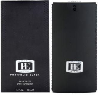 Perry Ellis Portfolio Black toaletní voda pro muže 100 ml