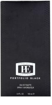 Perry Ellis Portfolio Black eau de toilette per uomo 100 ml