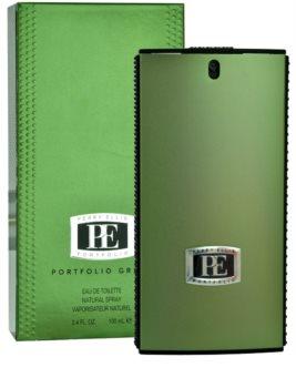 Perry Ellis Portfolio Green Men Eau de Toilette for Men 100 ml