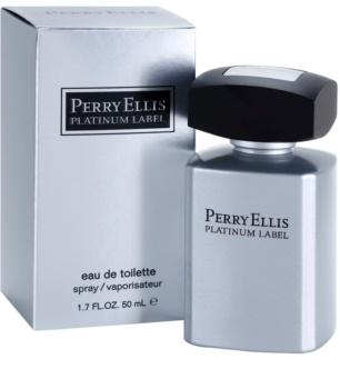 Perry Ellis Platinum Label Eau de Toilette para homens 50 ml