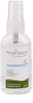 Perspi-Guard Maximum 5 antitranspirante em spray de alta eficácia