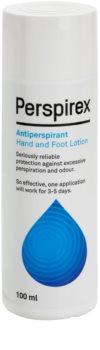Perspirex Original antitranspirante contra a transpiração das palmas das mãos e dos pés com efeito durante 3 - 5 dias