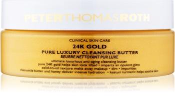 Peter Thomas Roth 24K Gold luxusní čisticí máslo proti příznakům stárnutí