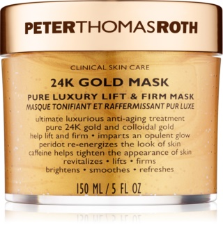 Peter Thomas Roth 24K Gold mascarilla facial reafirmante de lujo con efecto lifting