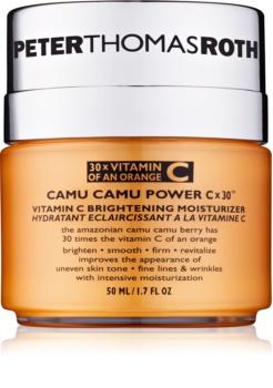 Peter Thomas Roth Camu Camu Power C x 30™ feuchtigkeitsspendende Creme für strahlenden Glanz mit Vitamin C
