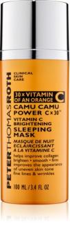 Peter Thomas Roth Camu Camu Power C x 30™ rozjasňující noční maska s vitaminem C