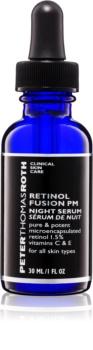 Peter Thomas Roth Retinol Fusion PM sérum de noite anti-idade com retinol