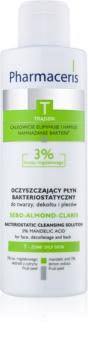 Pharmaceris T-Zone Oily Skin Sebo-Almond-Claris čistiaca voda pre mastnú a problematickú pleť