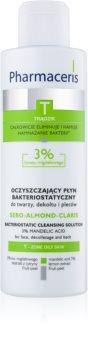 Pharmaceris T-Zone Oily Skin Sebo-Almond-Claris čistilna voda za mastno in mešano kožo