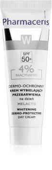 Pharmaceris W-Whitening Melacyd Blekningskräm  för korrigering av pigmentfläckar