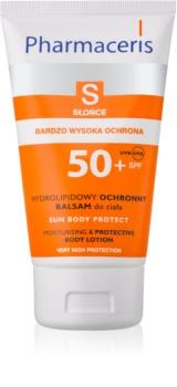 Pharmaceris S-Sun захисне молочко для тіла зі зволожуючим ефектом SPF 50+