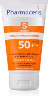 Pharmaceris S-Sun schützende Körperlotion mit feuchtigkeitsspendender Wirkung SPF 50+