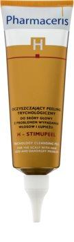 Pharmaceris H-Hair and Scalp H-Stimupeel peeling proti lupinám a vypadávaniu vlasov
