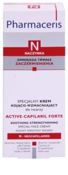Pharmaceris N-Neocapillaries Active-Capilaril Forte špeciálny krém na rozšírené a popraskané žilky