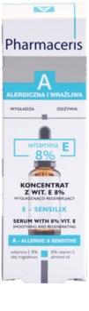 Pharmaceris A-Allergic&Sensitive E-Sensilix sérum régénérant pour peaux affaiblies à la vitamine E