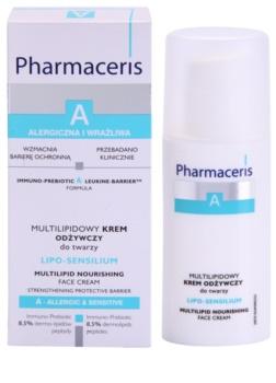 Pharmaceris A-Allergic&Sensitive Lipo-Sensilium crema nutritiva  reparador de la barrera cutánea