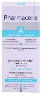 Pharmaceris A-Allergic&Sensitive Lipo-Sensilium tápláló krém a bőrréteg megújítására