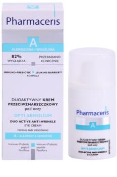 Pharmaceris A-Allergic&Sensitive Opti-Sensilium przeciwzmarszczkowy krem pod oczy  dla cery wrażliwej