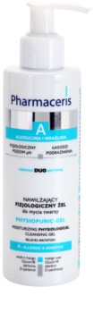 Pharmaceris A-Allergic&Sensitive Physiopuric-Gel gel micellaire nettoyant pour peaux sensibles et allergiques