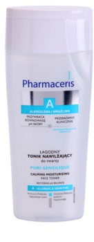 Pharmaceris A-Allergic&Sensitive Puri-Sensilique tónico hidratante com ácido hialurónico