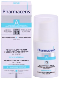 Pharmaceris A-Allergic&Sensitive Sensireneal crema  regeneradora antiarrugas para pieles muy sensibles