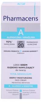 Pharmaceris A-Allergic&Sensitive Vita-Sensilium creme hidratante renovador para peles secas e sensíveis