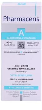Pharmaceris A-Allergic&Sensitive Vita-Sensilium erneuernde und feuchtigkeitsspendende Creme für trockene und empfindliche Haut