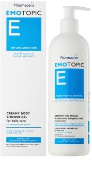 Pharmaceris E-Emotopic kremasti gel za prhanje za vsakodnevno uporabo