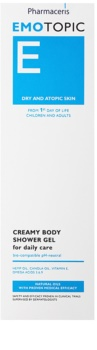 Pharmaceris E-Emotopic krémový sprchový gel pro každodenní použití