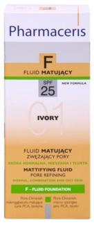 Pharmaceris F-Fluid Foundation zmatňujúci fluidný make-up SPF 25