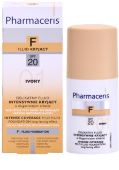 Pharmaceris F-Fluid Foundation spray cu efect de lunga durata ce fixeaza machiajul SPF 20