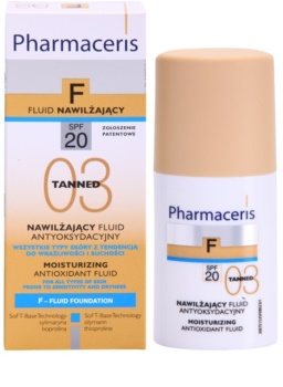 Pharmaceris F-Fluid Foundation hydratačný make-up SPF 20