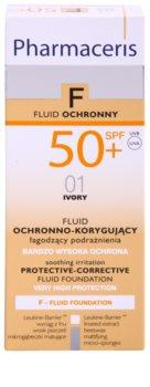 Pharmaceris F-Fluid Foundation захисний тональний крем SPF 50+
