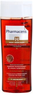 Pharmaceris H-Hair and Scalp H-Keratineum champô reforçador para cabelo enfraquecido