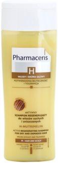 Pharmaceris H-Hair and Scalp H-Nutrimelin regeneračný šampón pre suché a poškodené vlasy